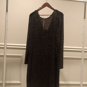 NWT Michael Kors Brown Cocktail Dress